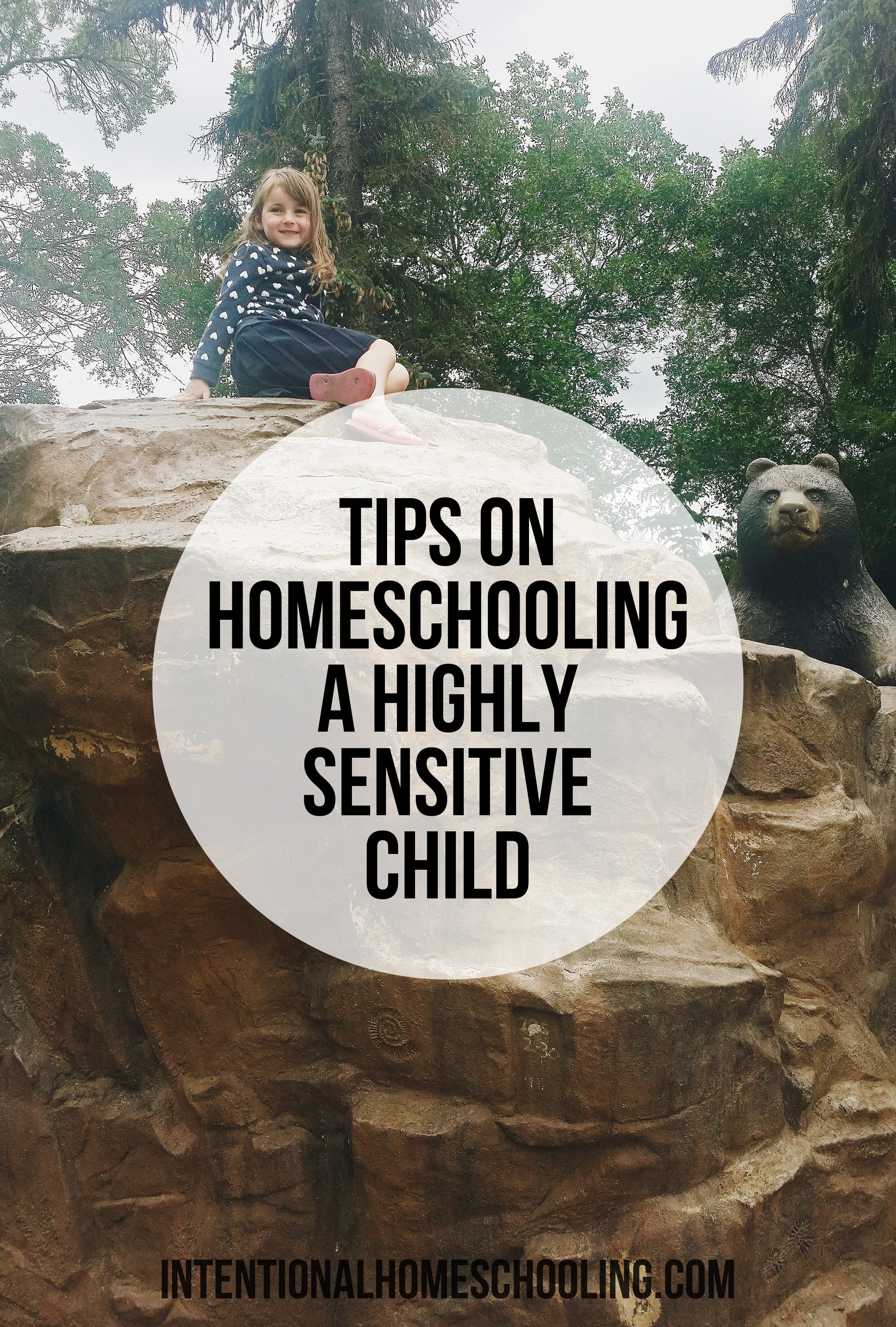 Tips on how to homeschool a highly sensitive child, little adjustments you can make in your homeschool to make the days easier for everyone.