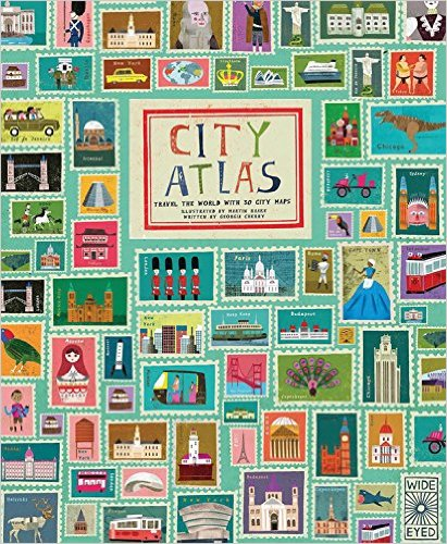 City Atlas: Travel the World with 30 City Maps