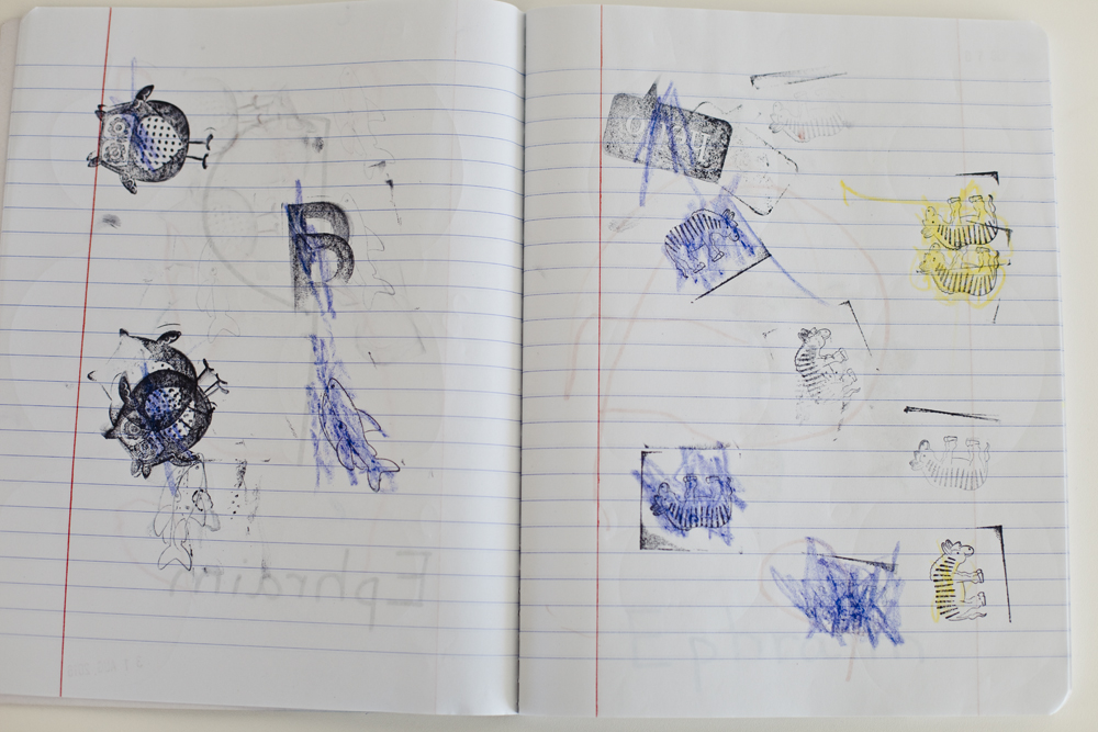 Ideas for a simple preschool journal for 3 year olds