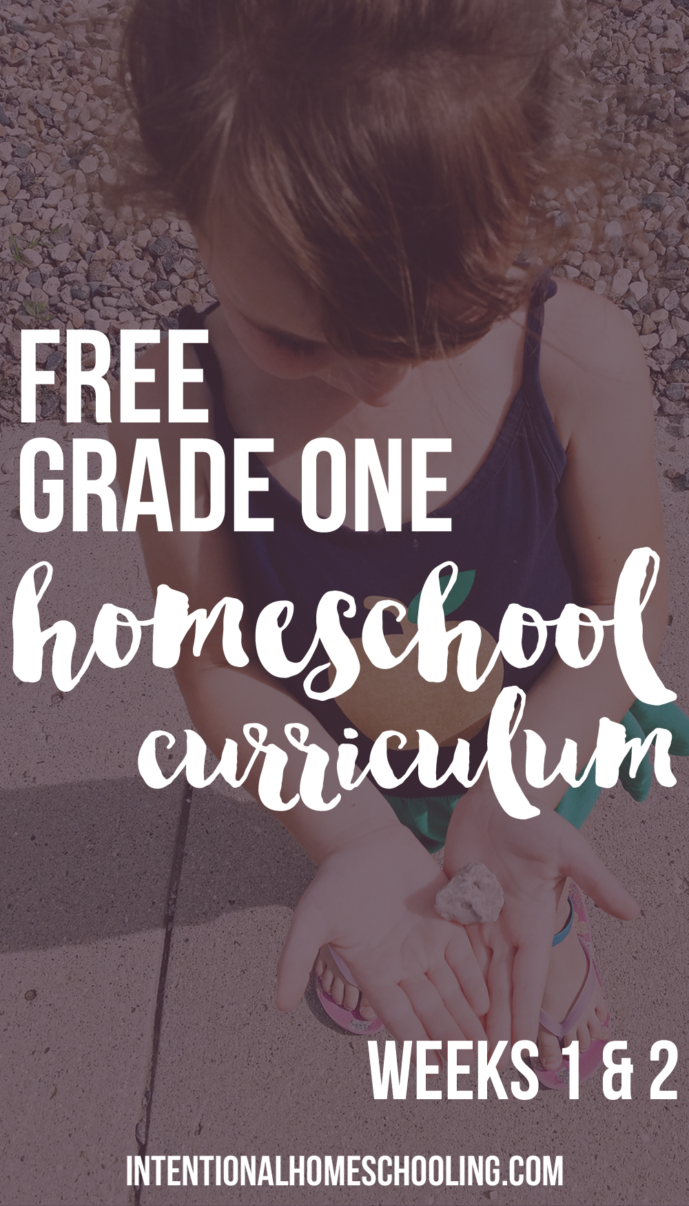 Our Homemade Grade One Homeschool Curriculum - Weeks 1 & 2 - includes Bible, writing, reading, math, science, history, geography, art and music!