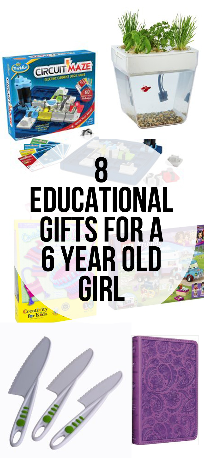 Gift Guide - 8 Educational Gifts to get for a 6 Year Old Girl
