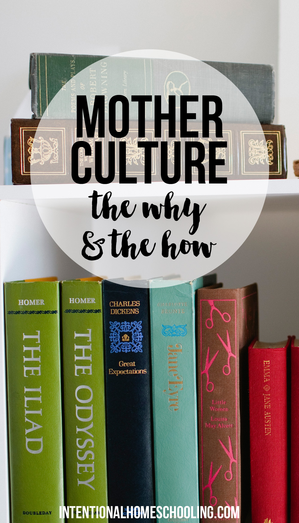 Mother Culture - the why and the how. A great read for every homeschooling (and non-homeschooling) mom!
