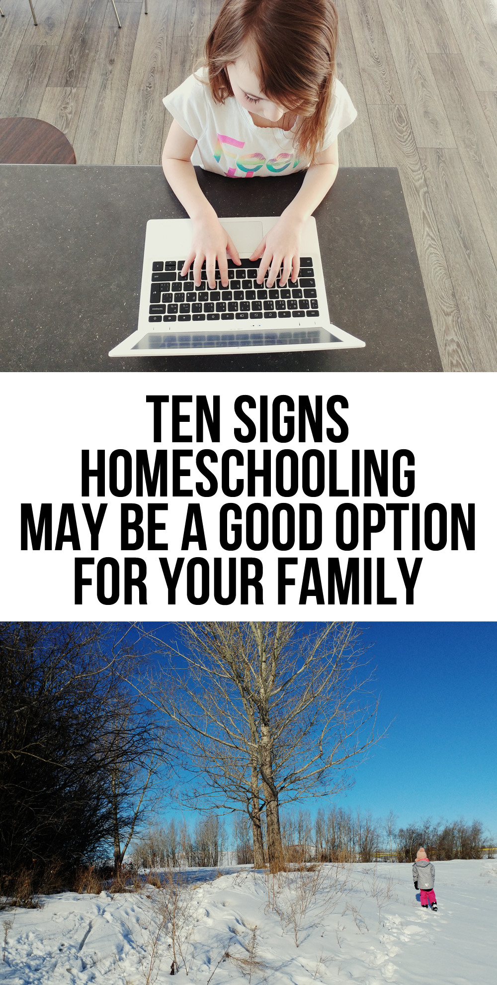 Wondering if homeschooling is the best option for your family? Here are ten signs that homeschooling may be the best option for your family.