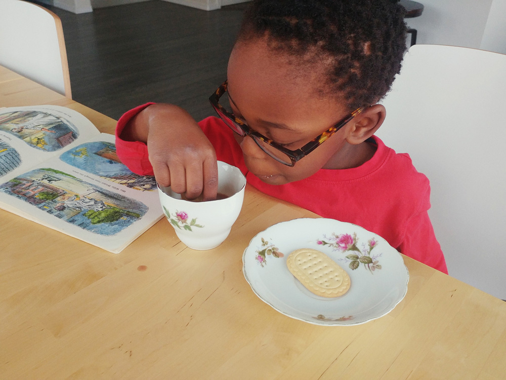 Some peeks into our homeschool through some photo snapshots