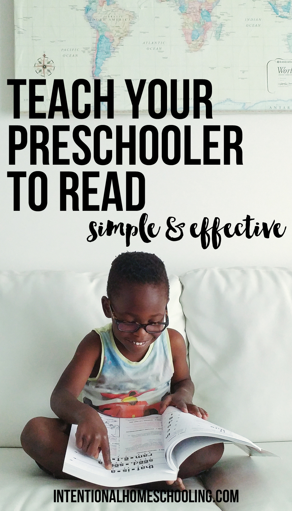 How to Teach Your Preschooler to Read