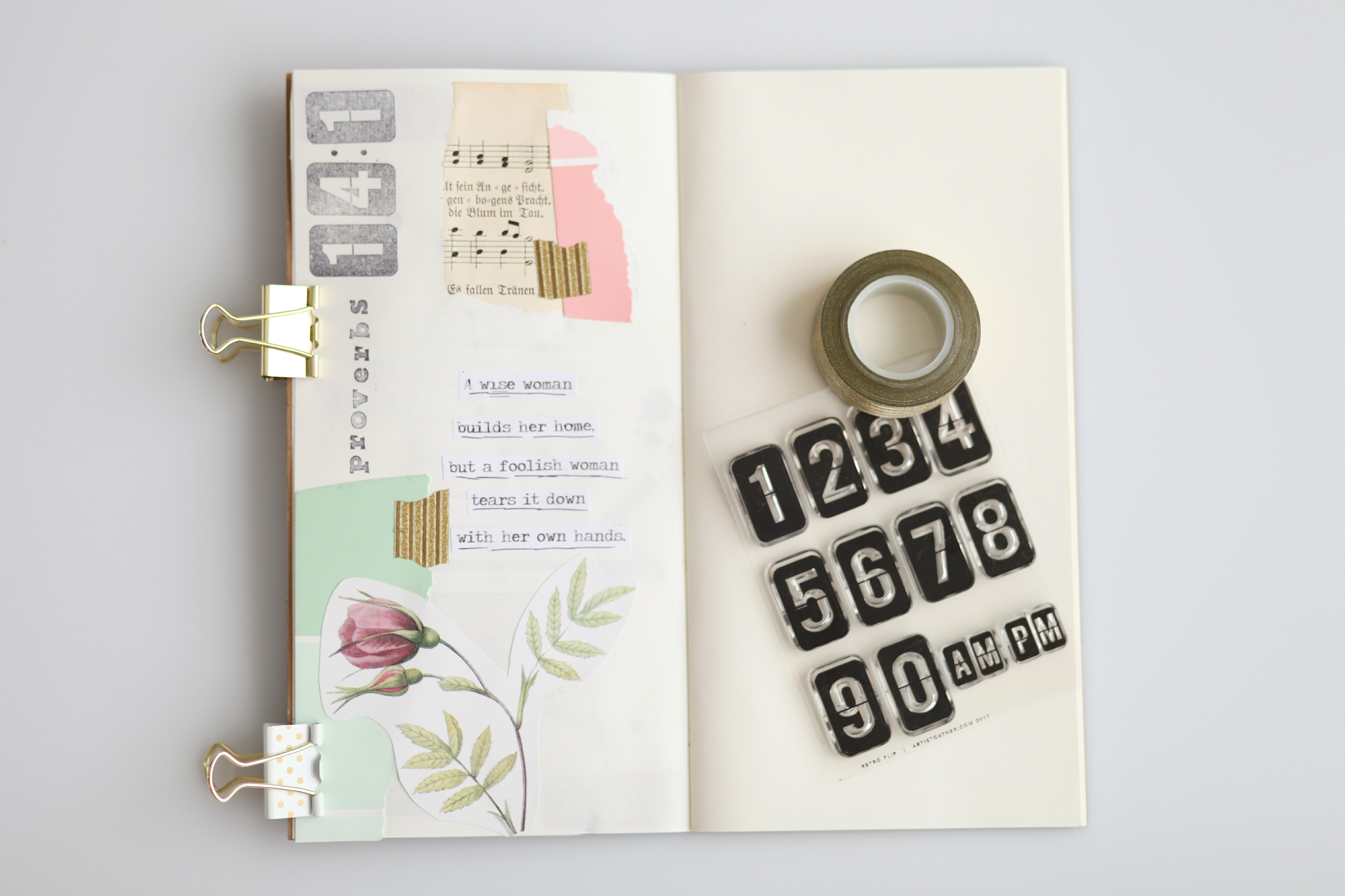 Memory Verse Art Journaling - Homeschool Bible Verse Memory System