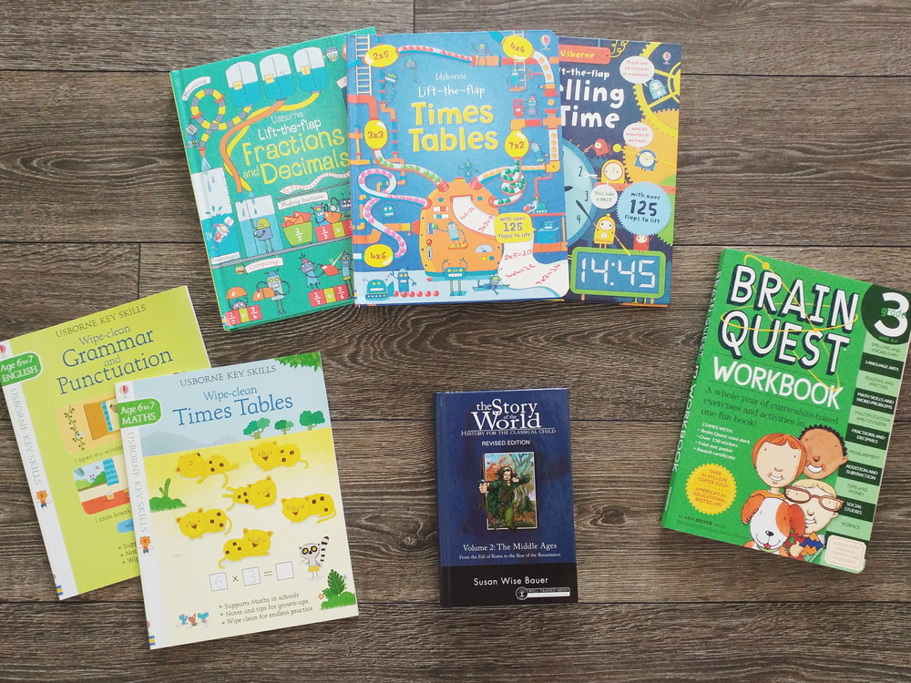 Our Favorite Grade Three Homeschool Resources