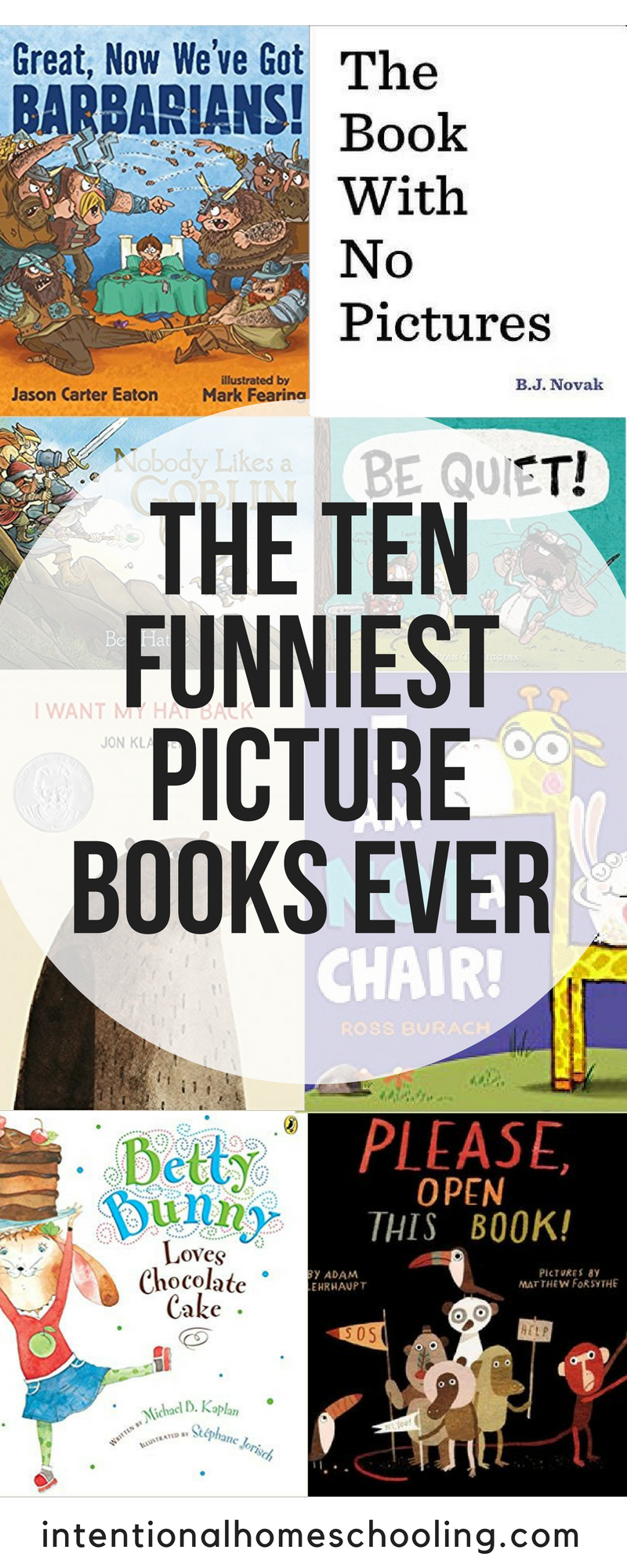 This list has ten funny picture books that will have kids giggling and laughing out loud. They are the best funny picture books ever!