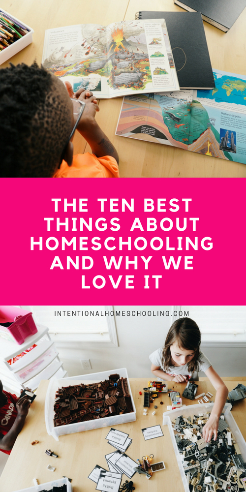 Ten amazing things about homeschooling and why we love it so much!