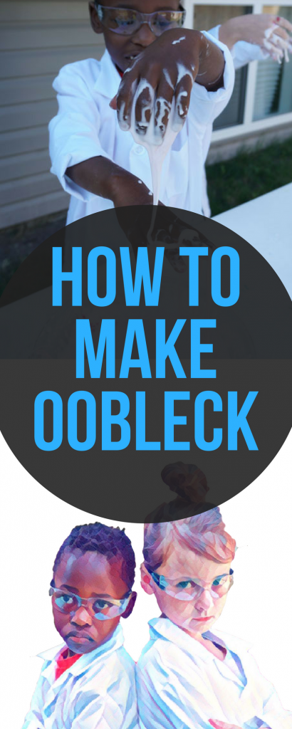 Here's an easy STEM experiment to try with kids: Making Oobleck, just like in the Dr. Seuss book!