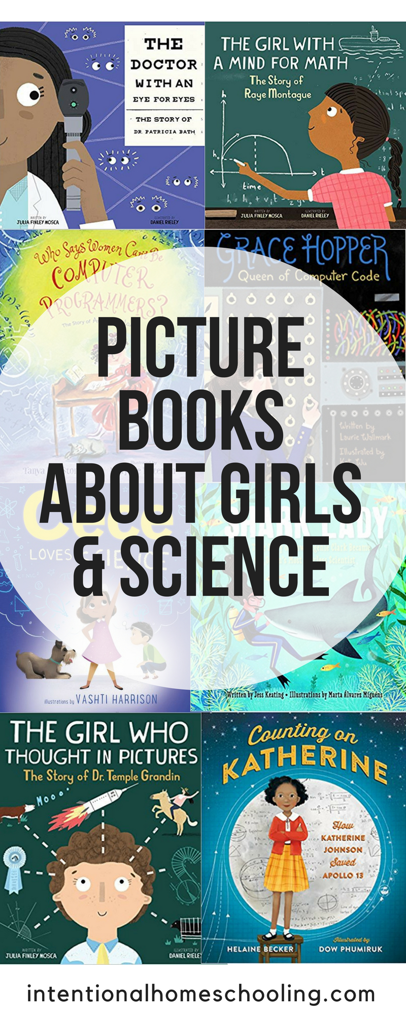 The best picture books about girls and science - a great list of picture book biographies of women scientists and more!