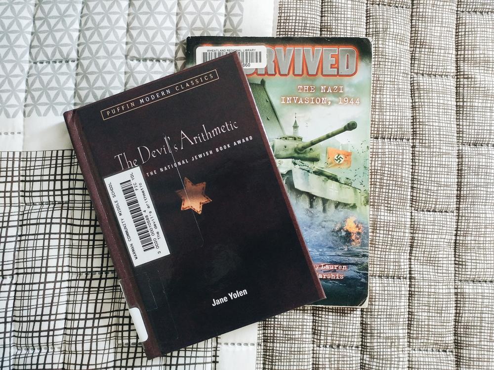 Middle grade books set during World War II