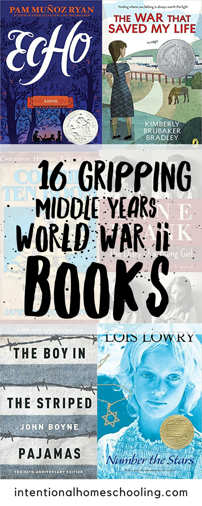 Middle grade books set during World War II