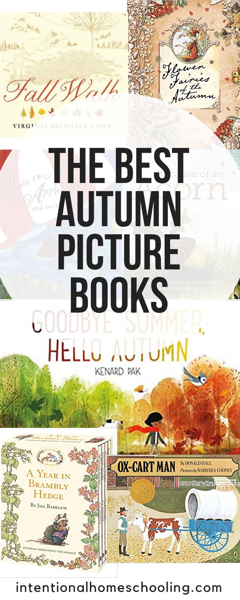 The best fall picture books for kids. Great books for autumn reading.
