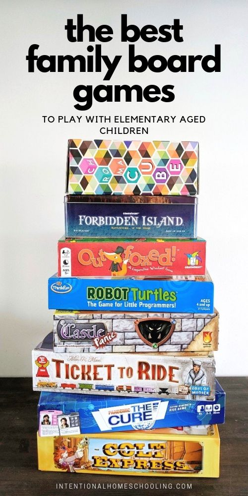 The Best Family Boards Games to Play with Elementary Aged Children