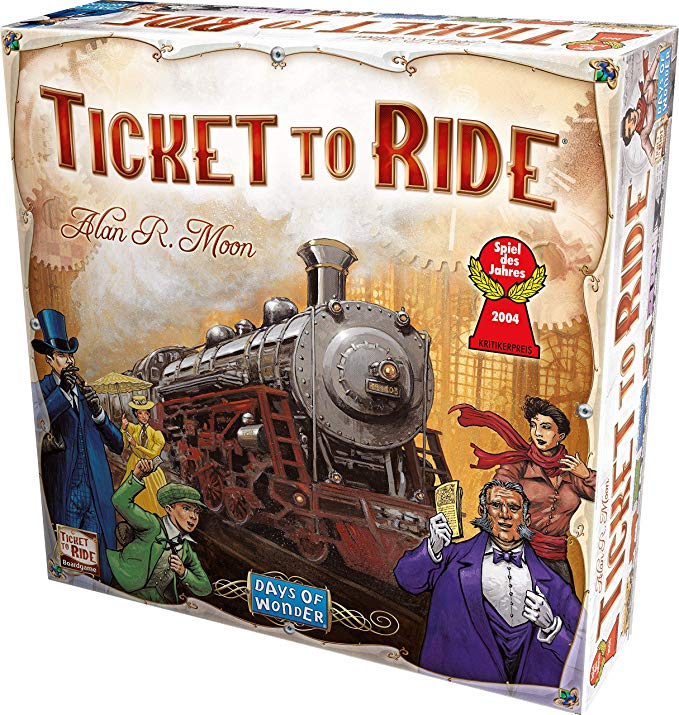 Family Board Games - Ticket to Ride