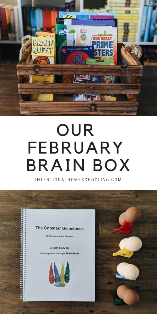 What's in Our February Brain Box - Our take on a morning basket