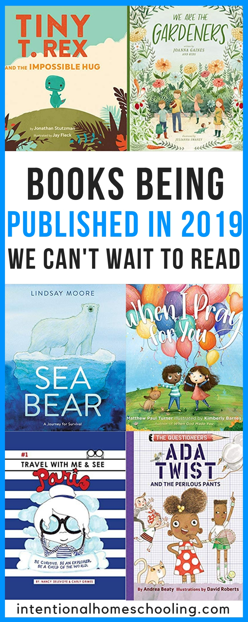 Books coming out in 2019 we are looking forward to reading - picture books and middle grade chapter books