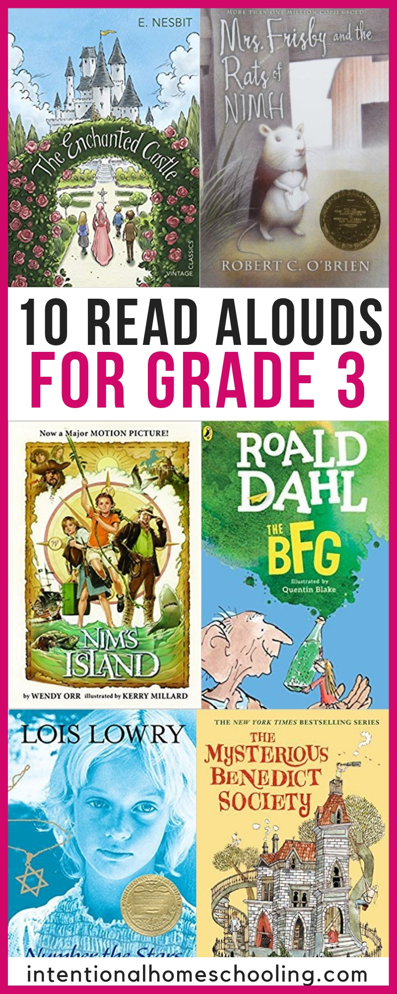 10 Great Read Aloud Novels For Grade 3 - perfect read aloud chapter books and audiobooks
