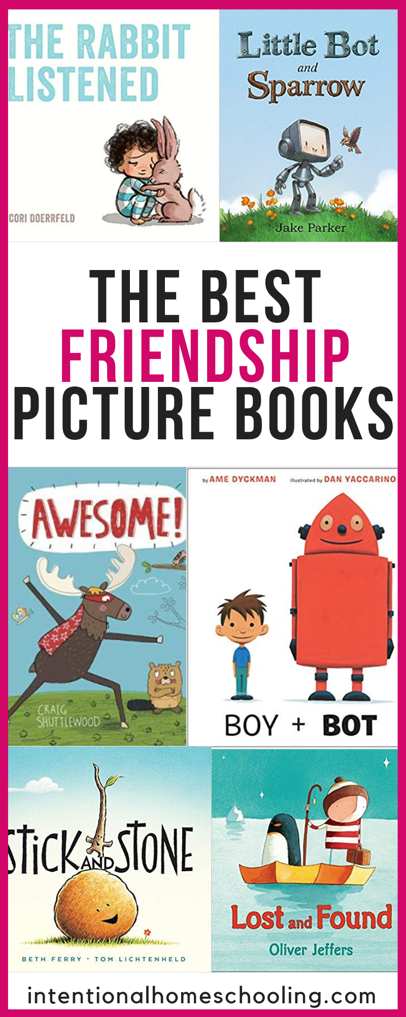 The Best Picture Books about Friendship and Kindness