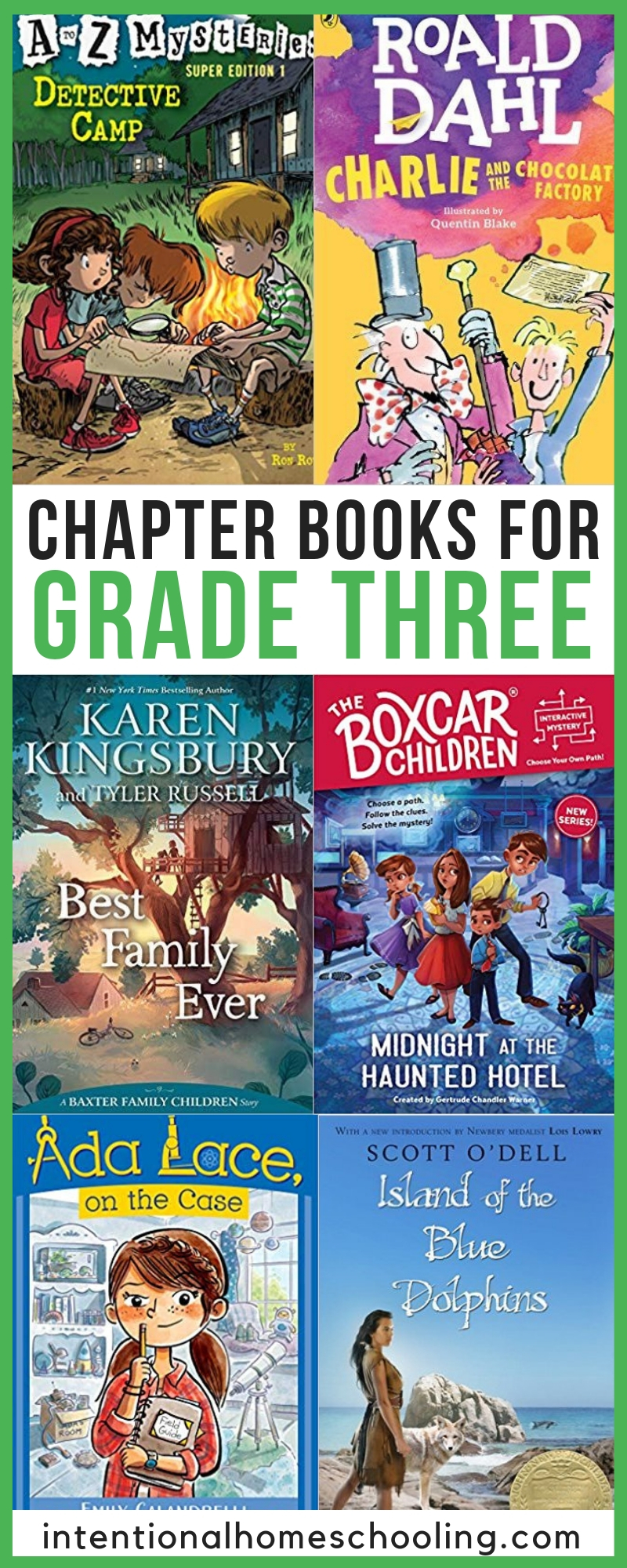 Best Chapter Books for Independent Reading in Grade 3