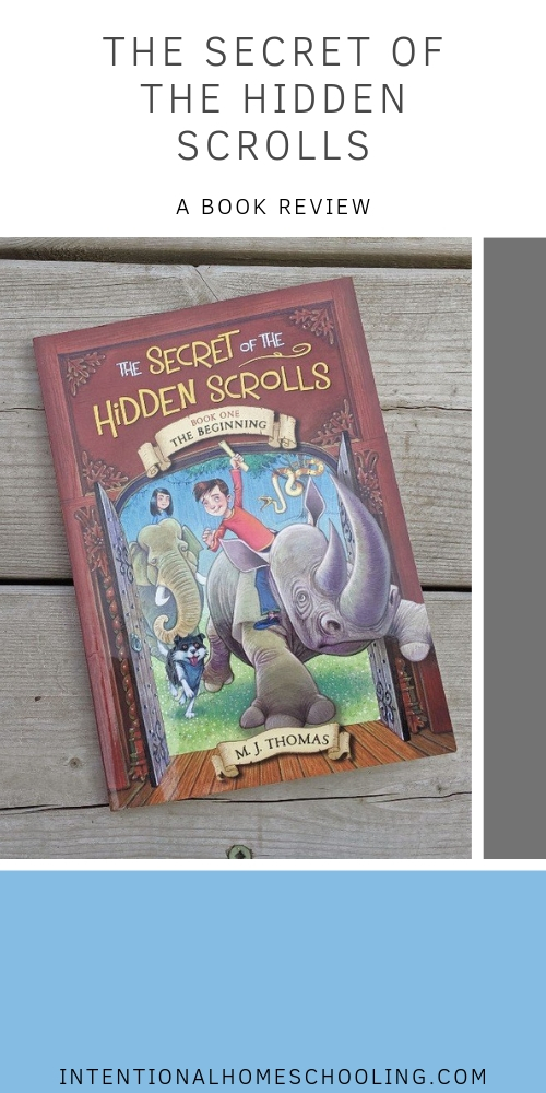The Secret of the Hidden Scrolls - The Beginning - Book Review - great books for kids who love Magic Tree House