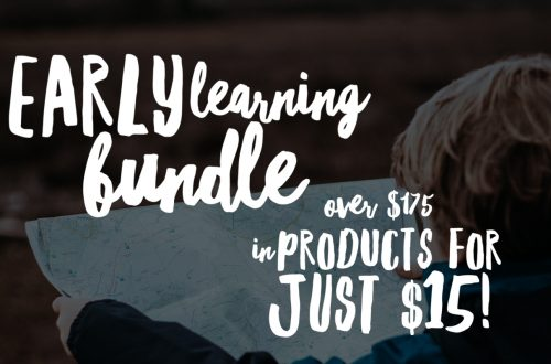 Early Learning Bundle - great products for those in preschool and kindergarten and an excellent deal!