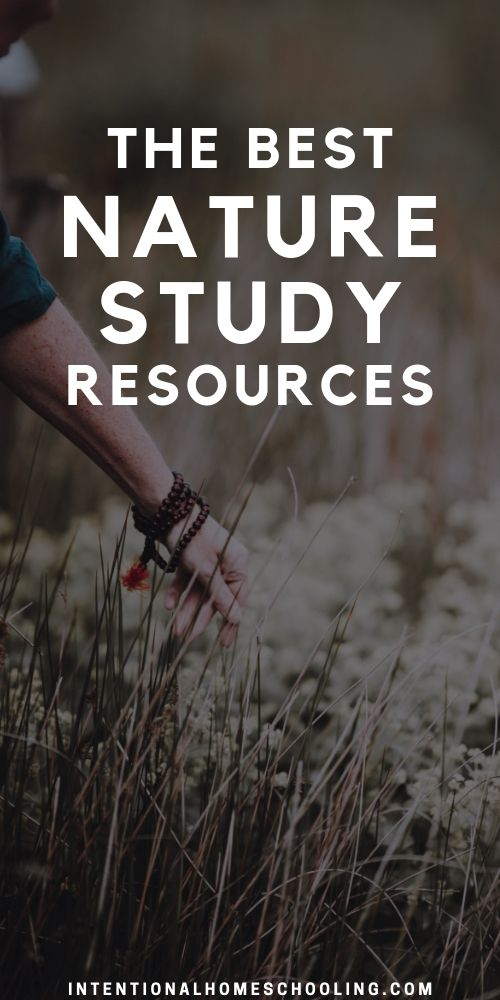 A List of the Best Resources for Nature Study
