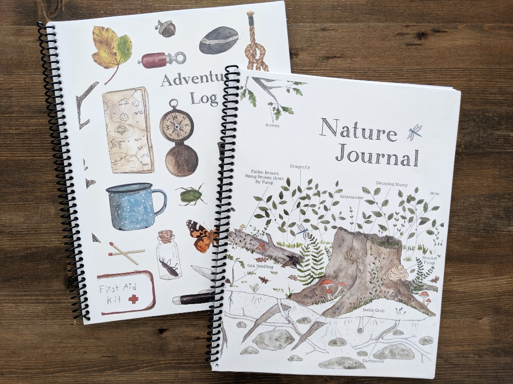 Great Nature Study Resources - Our Nature Journals and Adventure Log