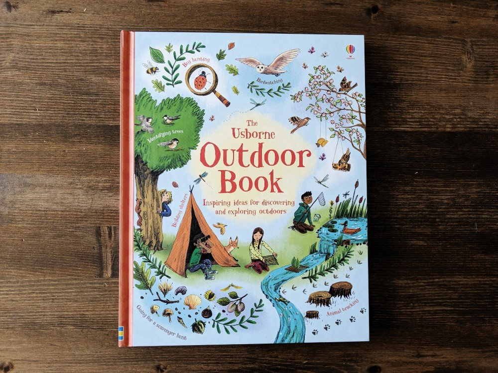 Great Nature Study Resources - Nature Journal - Usborne Outdoor Book