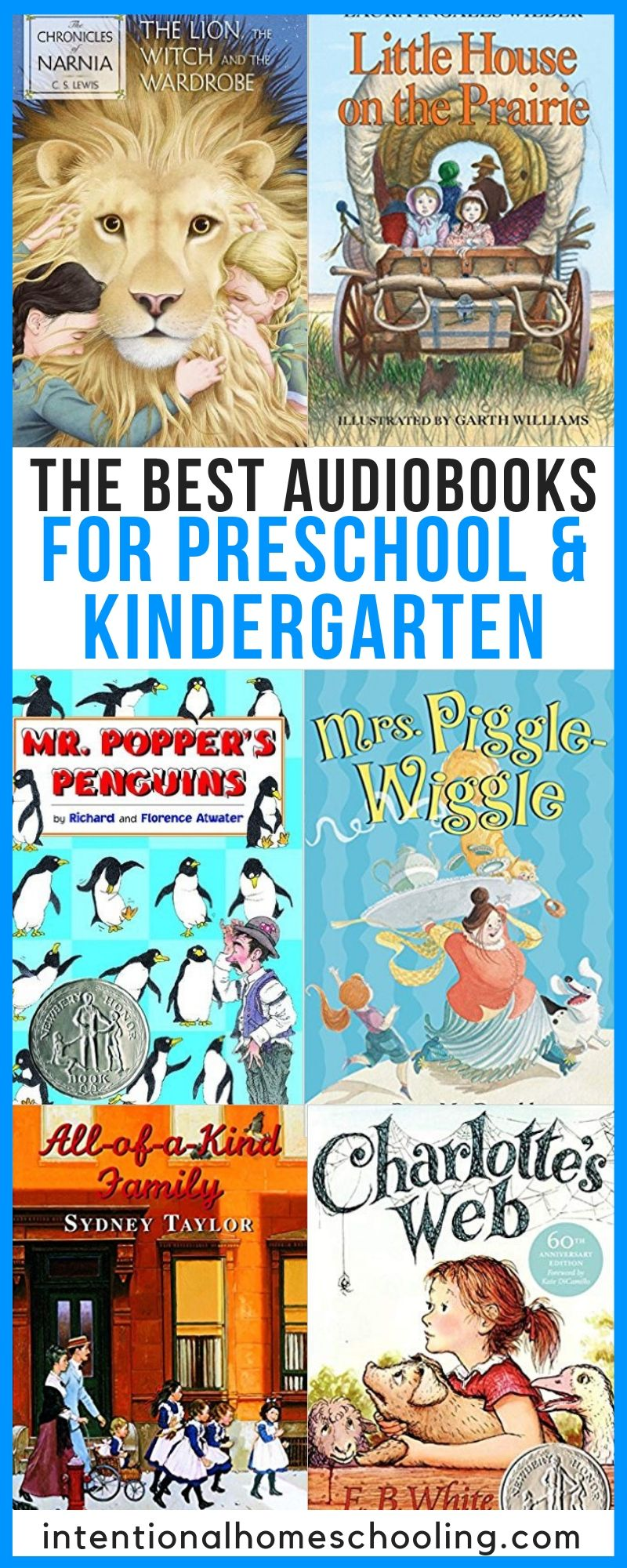 The Best Audiobooks for Preschool and Kindergarten - great for the whole family to listen to!