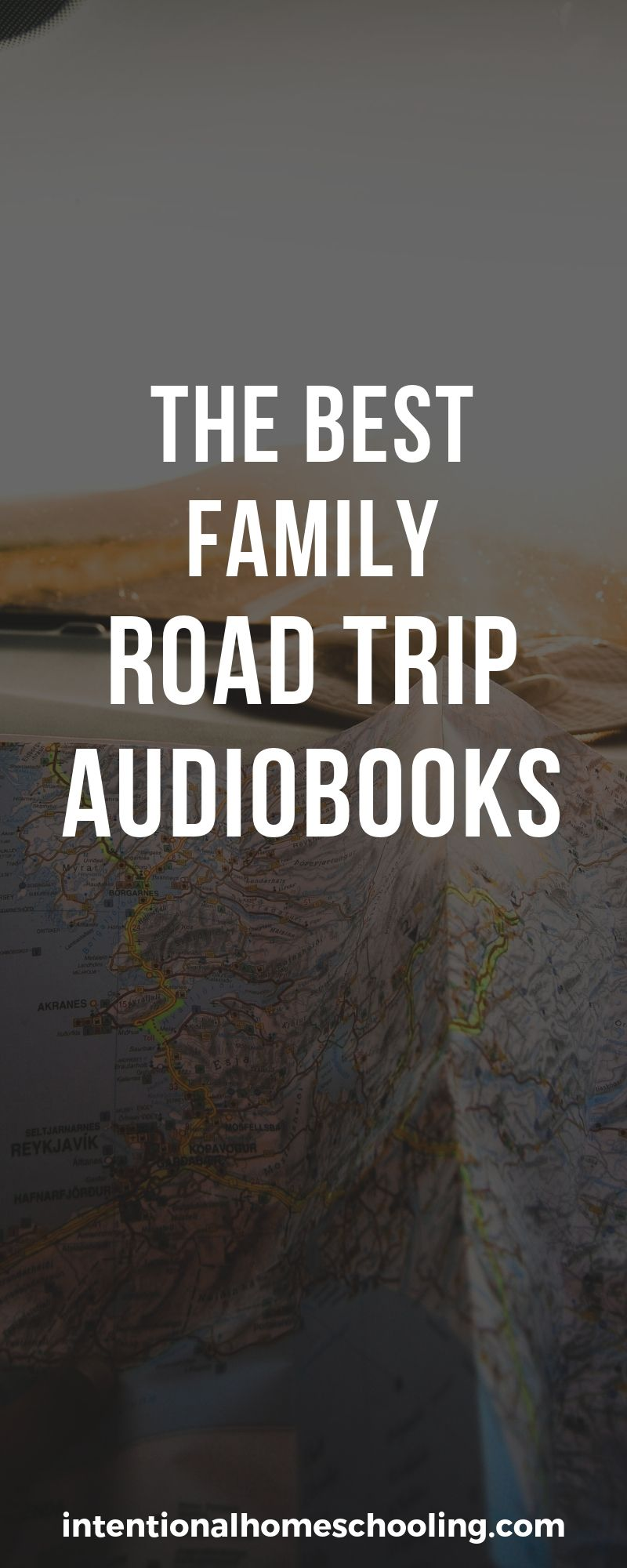 The Best Audiobooks for Family Road Trips - books the whole family will love