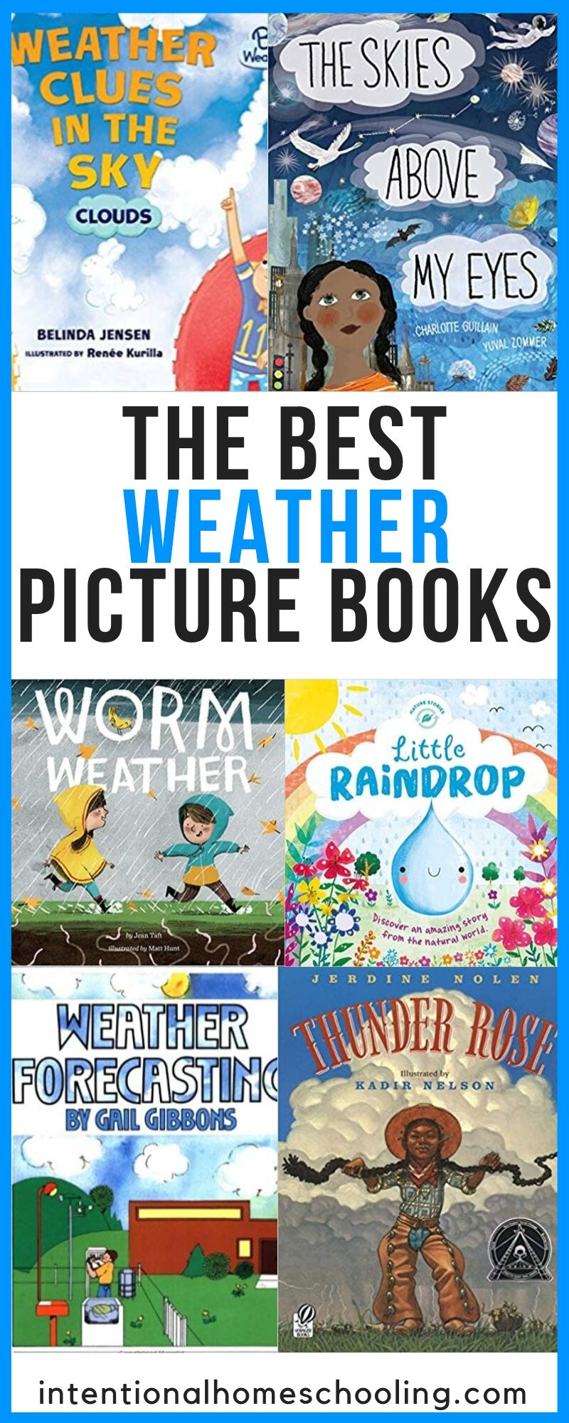 The Best Picture Books About Weather - Fiction and Non-Fiction Picture Books Great for Kids in Elementary