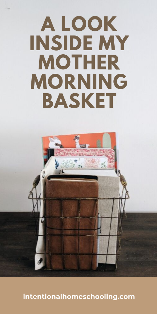 A Look Inside My Mother Culture Morning Basket