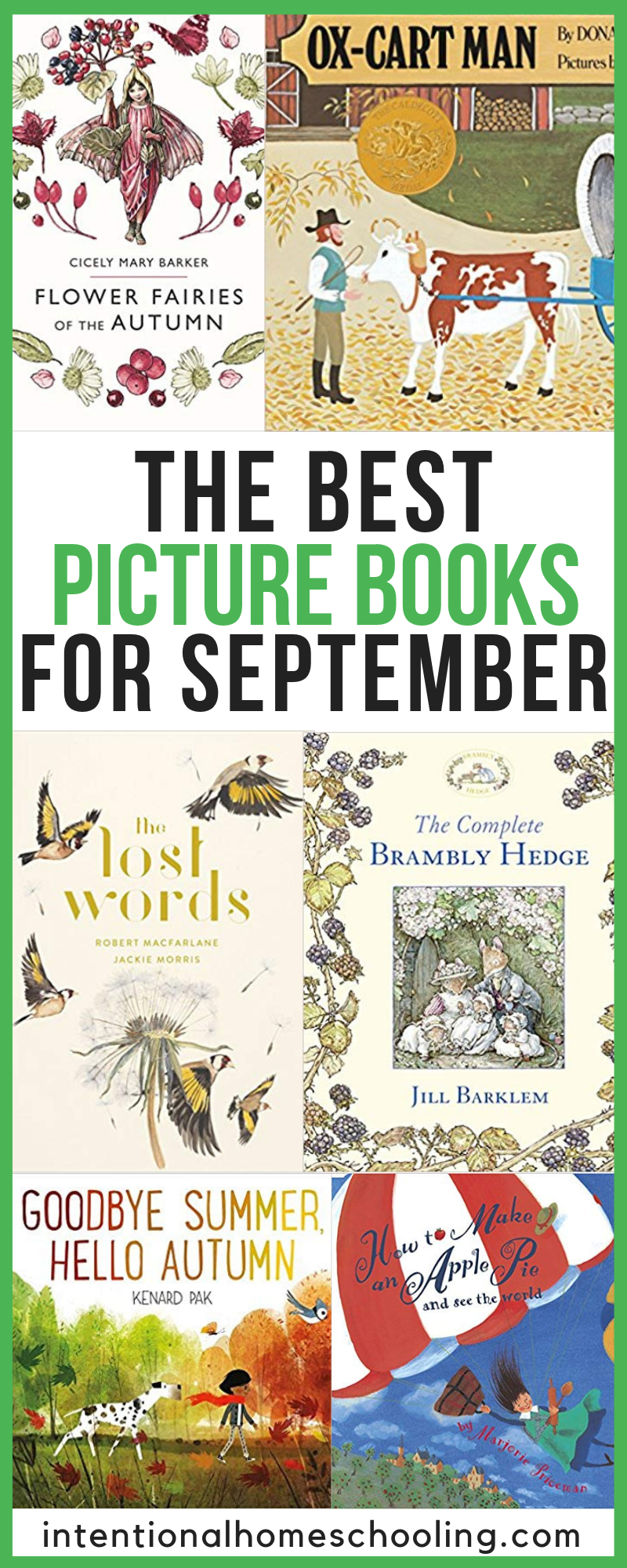 The Best Picture Books for Fall and September