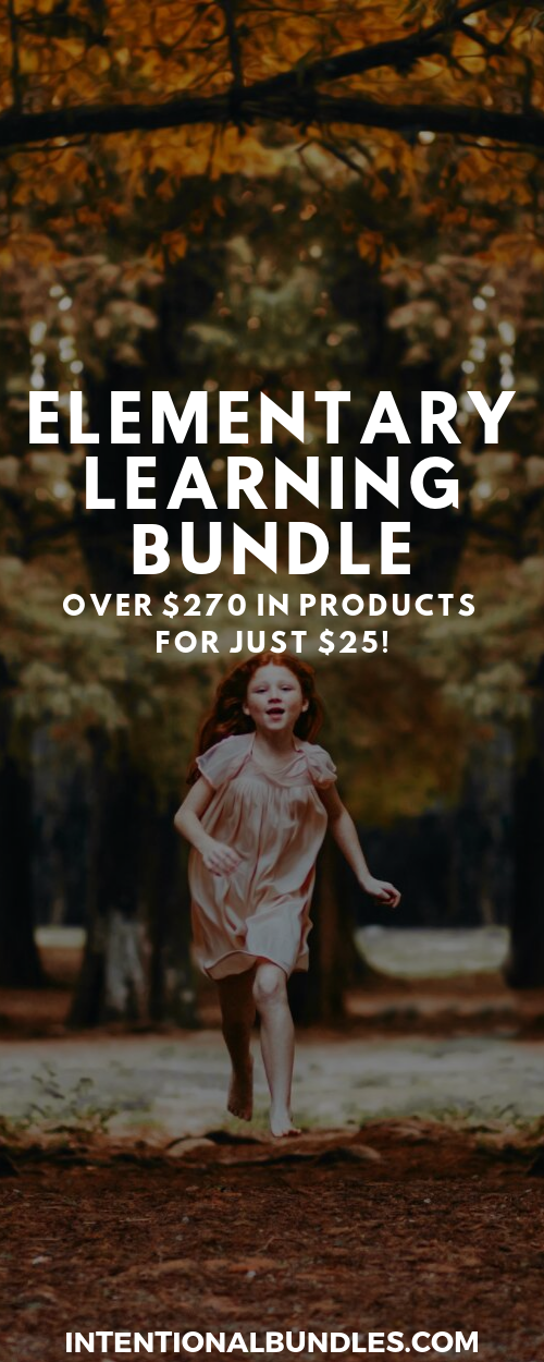 Elementary Learning Bundle - over $270 in products for just $25
