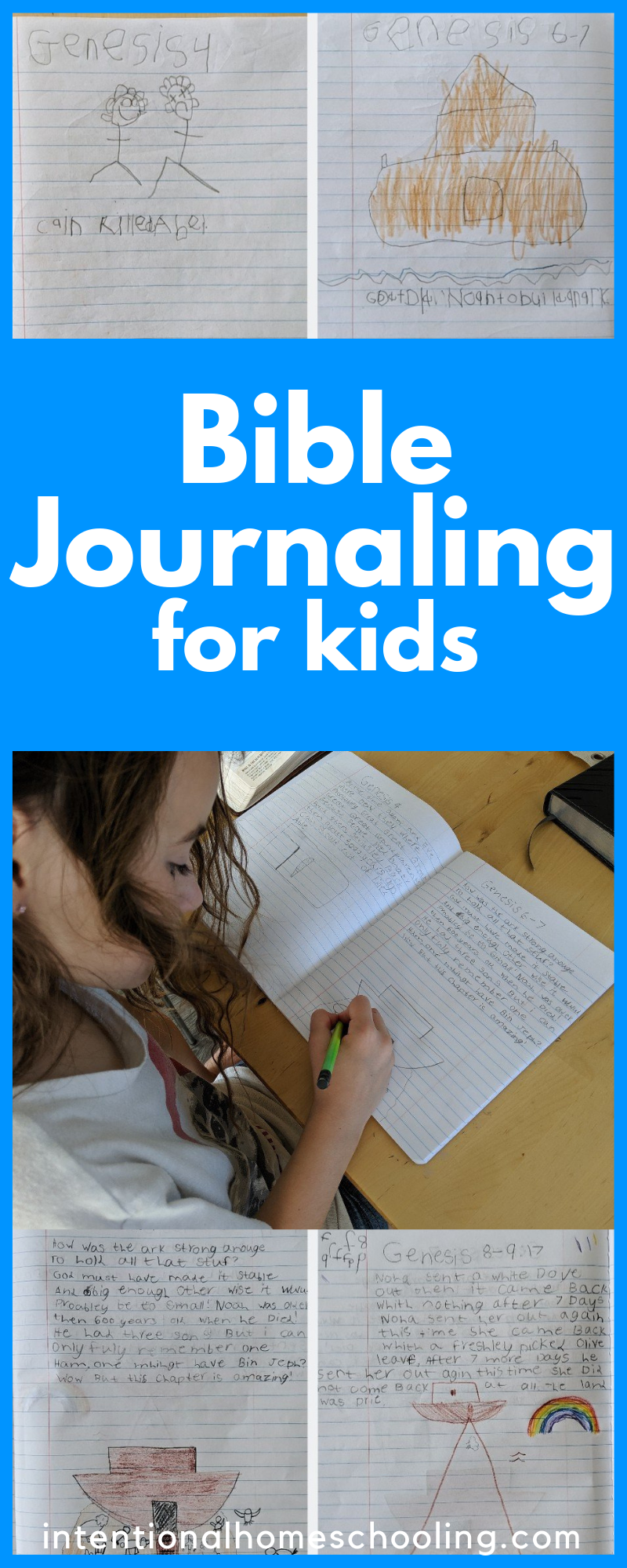 How we Bible Journal with Kids