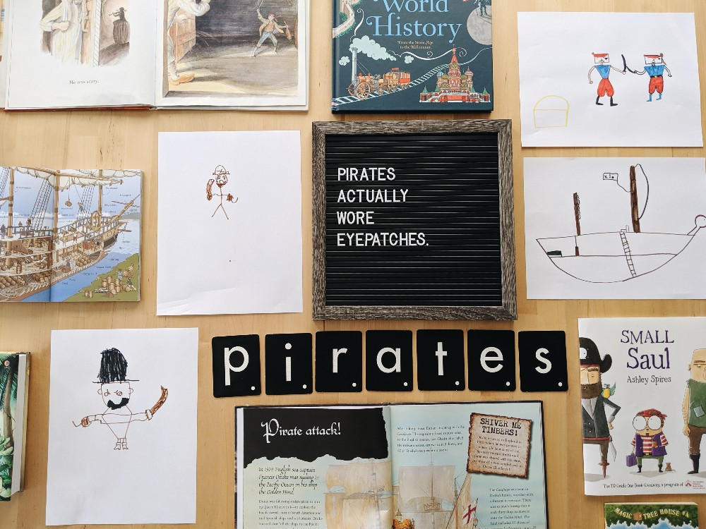 Free Pirate Unit Study Resources - great for talk like a pirate day