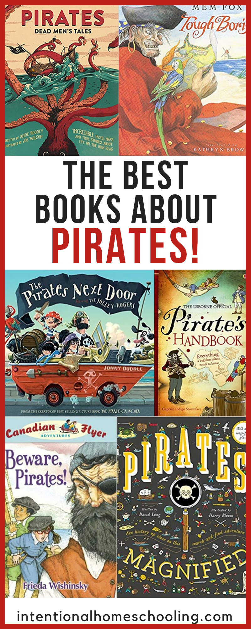 The Best Books About Pirates - picture books, chapter books, fiction and non-fiction