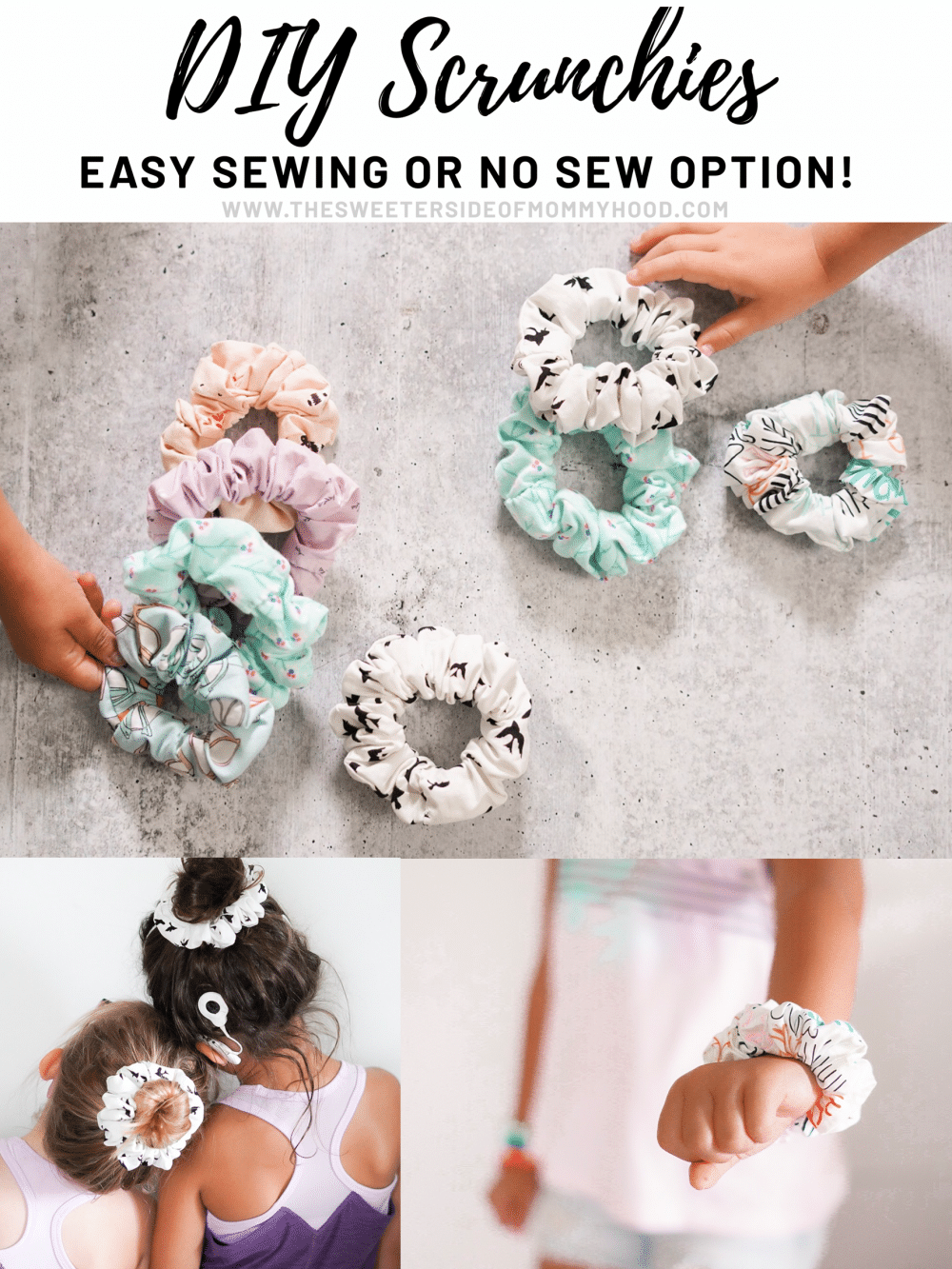 DIY Easy Scrunchies