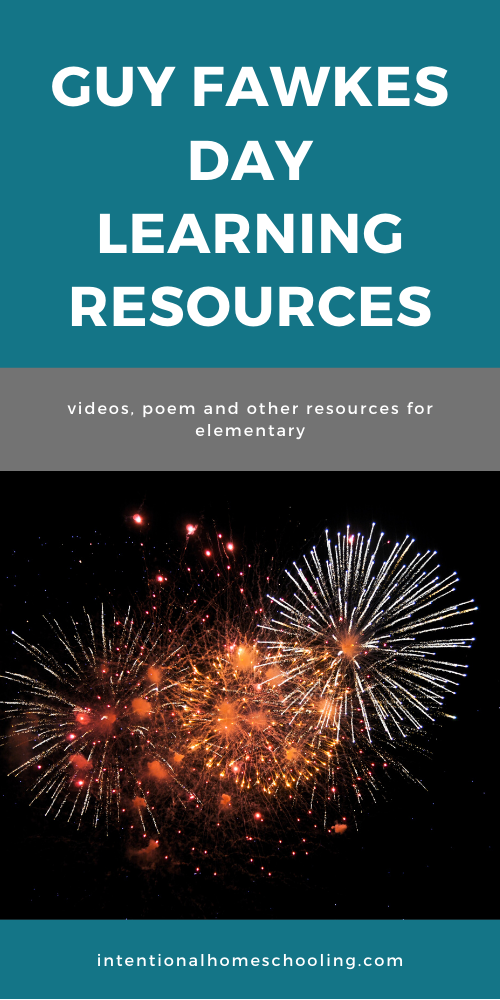 Guy Fawkes Day Learning Resources for Elementary