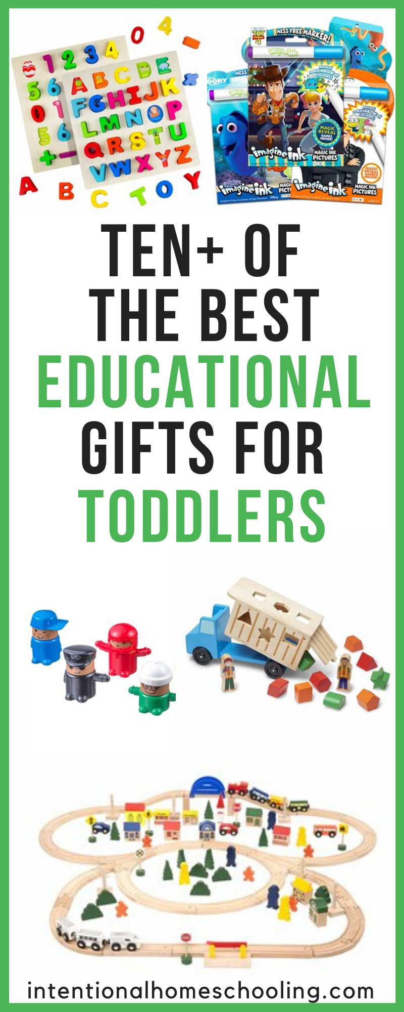 The Best Educational Gifts and Toys for Toddlers