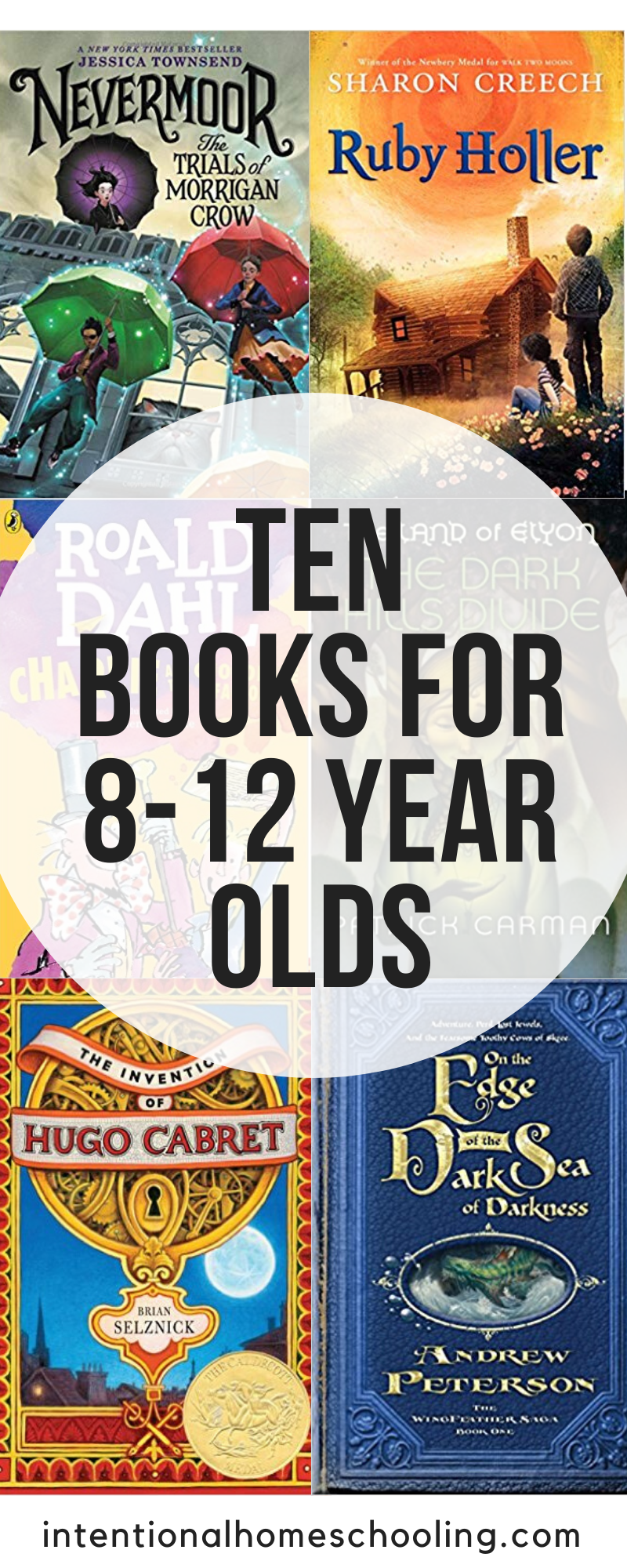 Independent Books to Read for 8-12 Year Old - Great middle grade novels