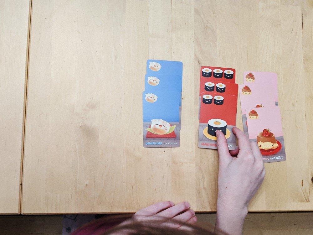 Sushi Go - Math Skills - Homeschool Week in Review