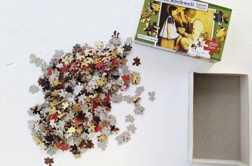 Puzzle - Homeschool Week in Review