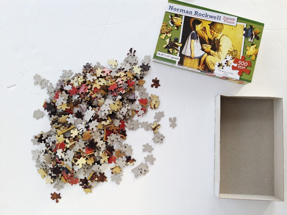 Puzzle - Homeschool Week in Review