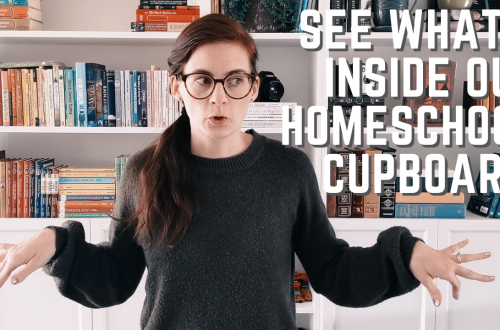 A Tour Inside Our Homeschool Cupboards and the Resources We Love the Most