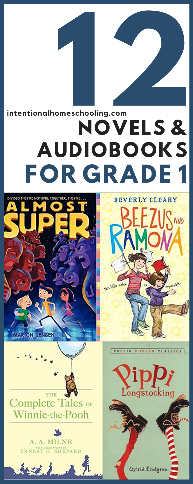 The Best Chapter Books Audiobooks and Novels for Grade One