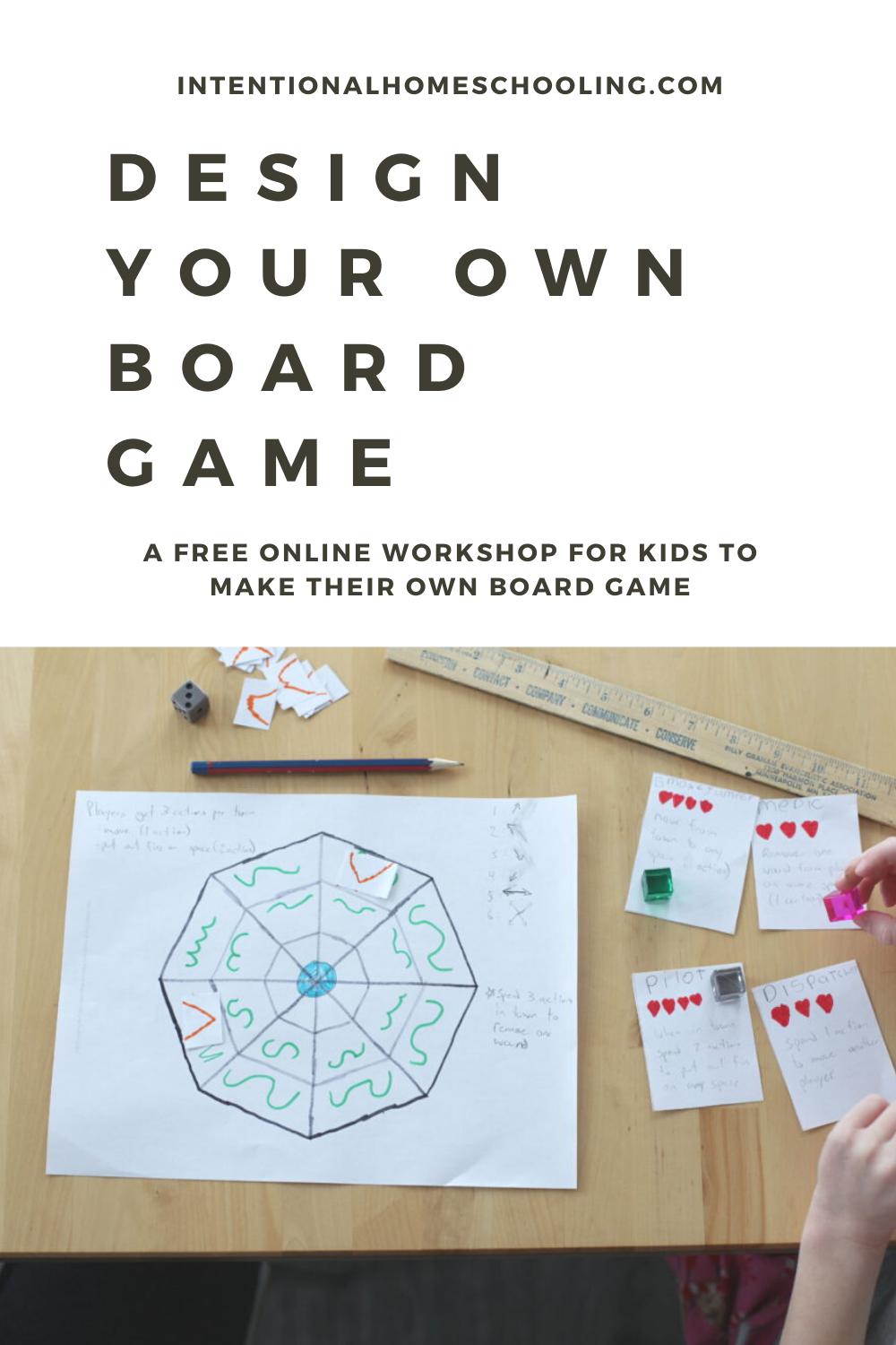 Design Your Own Board Game - free workshop