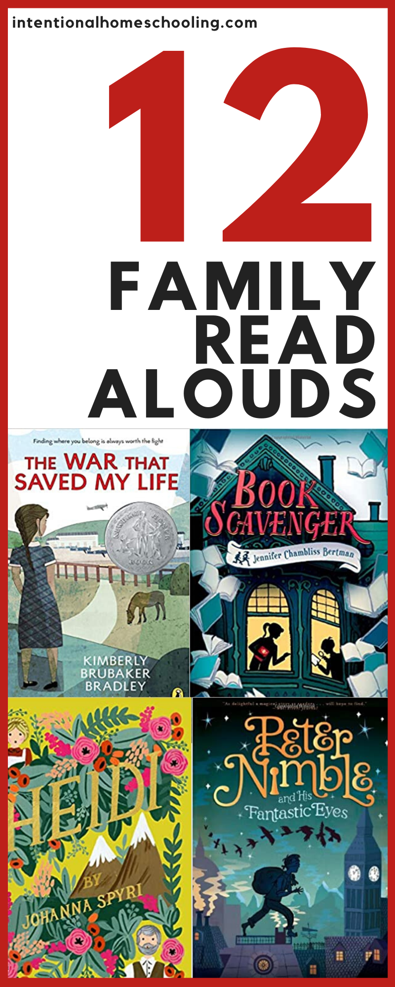 Family Read Aloud Books we want to read together as a family this year